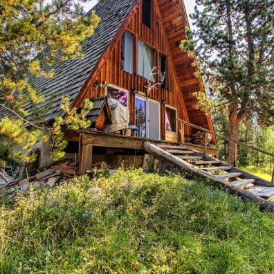 "Cabin #3 – ""A-frame"" | Mountain Pinnacle Properties"