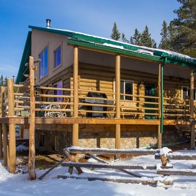 "Cabin #1 - ""Luxury Log"""