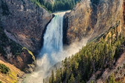 Yellowstone Falls is an iconic place to visit.